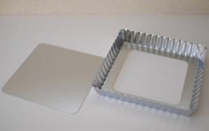 正方形タルト型16cm・底取