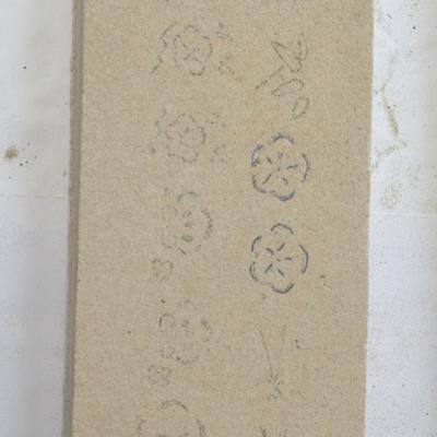 鋳物焼印表型