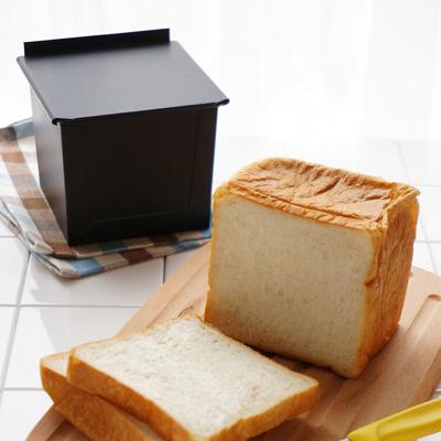 まじまやテフロン加工くろがね食パン型