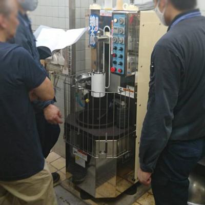 品川工業所ミニ飛鳥餅つき機