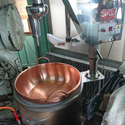 中井機械餡練り機納品